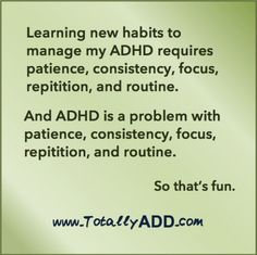 The biggest challenge to managing my ADHD is my ADHD. Adhd Odd, Adhd And Autism, Mental Health Memes, Mental And Emotional Health, Adhd Awareness Month, Adhd Quotes, Adhd Funny, Adhd Help, Adhd Brain