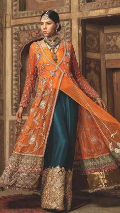 Shadi Dresses, Pakistani Formal Dresses, Pakistani Wedding Outfits, Pakistani Dress Design, Nikkah Dress, Pakistani Mehndi, Mehndi Dress, Pakistani Fashion Party Wear, Punjabi Fashion