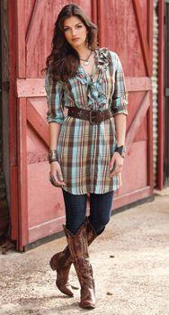 Ladies Western Wear-Women's Western Wear-Cowgirl Apparel-Cowgirl Clothes CrowsNestTrading $105.00