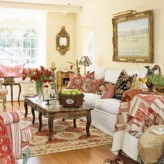 Check Out These 20 Summer Country Style Living Room Ideas