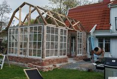Greenhouse Farming is the process of cultivating crops and vegetable. If you have a greenhouse or are considering setting up one, then we'll share what greenhouse plants grows best inside. Greenhouse Shed, Greenhouse Gardening, Greenhouse Wedding, Orangerie Extension, Greenhouses For Sale, Gazebos, Cold Frame, Potting Sheds, She Sheds