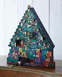 Christmas Tree Advent Calendar at Neiman Marcus. 100