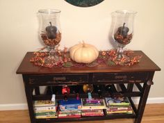 Lovely Fall Display. Debra Southworth -  Professional Home Staging / Decorating / Organizing