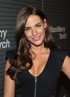Jessica Lowndes... so beautiful - hair color. I think this is my next hair color for fall!