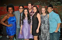 The cast of the first Broadway revival of GODSPELL ;)......See this!!!!!