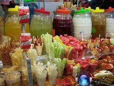 Mexican frutas con chile , sal y limon yummy.....