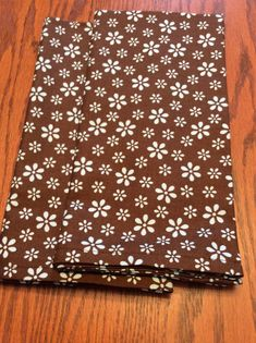 Items similar to Cloth Dinner Napkins - Brown with Light Blue Floral Design - Handmade - Eco Friendly on Etsy Cloth Dinner Napkins, Kitchen Linens, Animal Print Rug, Floral Design, Eco Friendly, Light Blue, Etsy Shop, Brown, Unique Jewelry