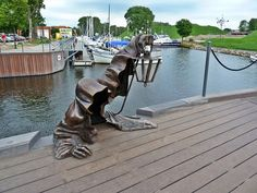 Statues from around the World: Black Ghost, Lithuania