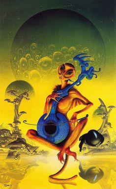80+ Best The Art Of Jim Burns images | burns, science fiction art, sci fi  art