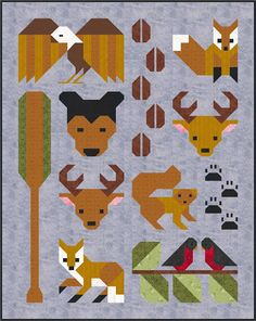 Sew Fresh Quilts: Forest Friends pattern release