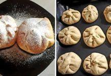 Még meleg túrós batyu, finomabbat pékségekben sem találni! Muffin, Bread, Cookies, Breakfast, Tej, Food, Basket, Mascarpone, Biscuits