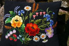 embroidery of Muhu island