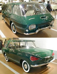 1959 Renault 900 Prototype. Wait... Ya drive it backwards?
