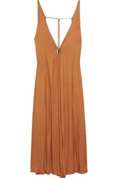 Chloé Embellished jersey dress NET-A-PORTER.COM