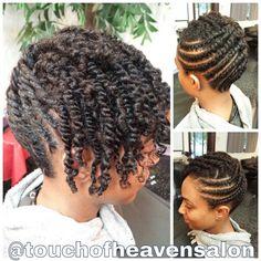 Natural Hair On Pinterest Two Strand Twists Flat Twist