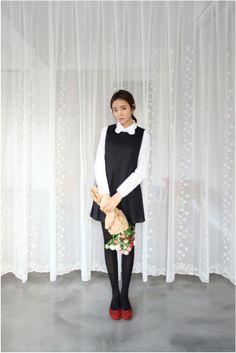 Cute little black dress  #dress #kooding
