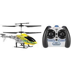 Rc Helicopter Toys 2 Channel Rex Hercules Yellow Remote Control Flying Toy #WORLDTECHTOYS