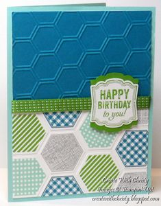Birthday Card by StampinChristy - Cards and Paper Crafts at Splitcoaststampers