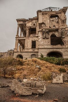 Image result for abandoned houses in afghanistan