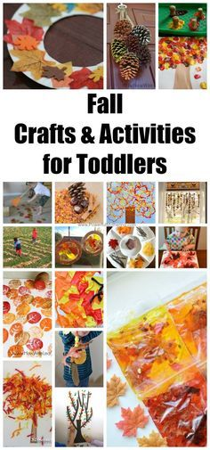 Looking for some fall activities and crafts for your toddler? I got you covered…