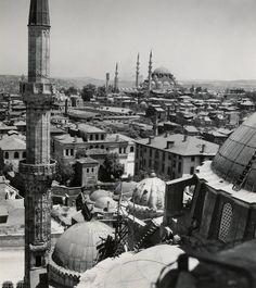 Şehzade Camii üstünden Süleymaniye