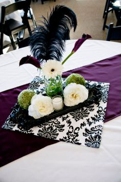 center piece for bridal shower