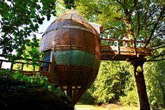 Situado en el corazón de un pintoresco valle, Terragora Lodges es una propiedad ecológica, construido con materiales naturales. Turismo rural en Vendée, Francia – Terragora Lodges