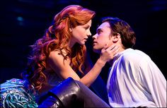 """Chelsea Morgan Stock and Drew Seeley """"The Little Mermaid"""", Broadway Little Mermaid Broadway, Mermaid Disney, The Little Mermaid, Ariel Mermaid, Mermaid Lagoon, Mermaid Hair, Drew Seeley, Theatre Nerds, Musical Theatre"""