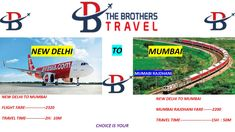 The Brothers Travel Direct Flights, Best Flights, Bus Tickets, Train Tickets, Flight Fare, Train Ticket Booking, Book Flight Tickets, New Mumbai, International Airlines
