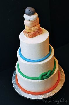 wedding cake rock wollongong rock climbing wedding cake sugar high cakes custom 23697