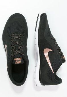 Bestill Nike Performance FLEX TRAINER 6 - Treningssko - black/metallic red bronze/white for kr 679,00 (14.11.16) med gratis frakt på Zalando.no