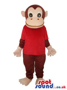 #monkey #mascots by #spotsound_uk -Discover all our #monkeys #mascots #costumes for your marketing events on: http://www.spotsound.co.uk/112-mascots-monkey - 7 sizes available with fast shipping over the world ! We can also customize your future #monkey #mascot ! Visit us ;)