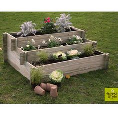 Tutoriel diy fabriquer une jardini re ou un bac - Carre potager jardiland ...