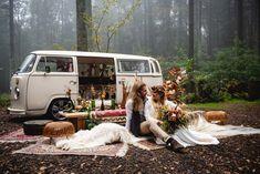 VW Campervan Wedding Hire London Surrey Kent Sussex - Buttercup Bus Wedding Car Hire, Wedding Shoot, Our Wedding, Table Wedding, Photo Zone, Festival Wedding, Elopement Inspiration, Vw T, London Wedding