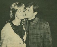 Burt Ward with wife