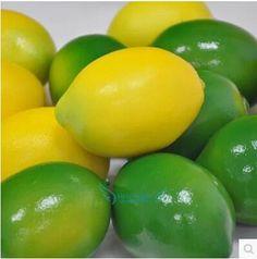 False simulation fruit vegetables export hyper-realistic callie lemon fruit store model ambry ornaments