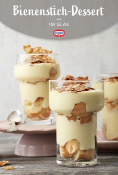 Desserts In A Glass, Easy Desserts, Delicious Desserts, Yummy Food, Sweet Like Chocolate, Mothers Day Dinner, German Baking, Food Inspiration, Sweet Treats