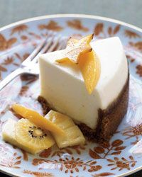Slow-Cooker Sour Cream Cheesecake Recipe on Food & Wine