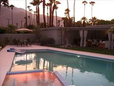 $385/night Movie Colony East (formerly Ruth Hardy Park) Vacation Rental - VRBO 160037 - 4 BR Palm Springs, Central House in CA, Fabulous 4BR Mid-Century Resort Home in Excellent Neighborhood