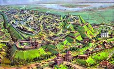 medieval ukraine chernigov chernihiv maps aka fantasy landscape imgur ages dark castle comments fortification views mapas antiguedad ciudades