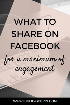 Facebook tips for a maximum of engagement. Social media tips