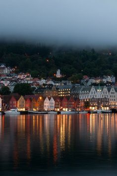 Bergen, Hordaland, west coast of Norway. I fell completely head over heels in love with Bergen! Places Around The World, Oh The Places You'll Go, Travel Around The World, Places To Travel, Places To Visit, Around The Worlds, Travel Destinations, Hidden Places, Beautiful Places In The World