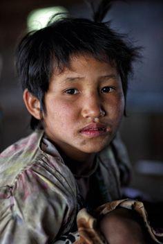 ˚Palaung Girl - Myanmar