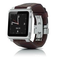 iWatchz Leather Watchband for iPod nano
