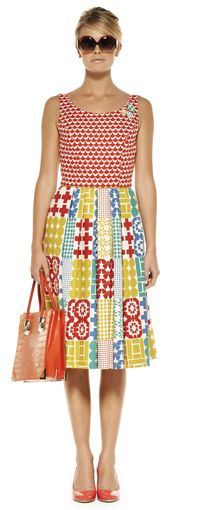 Fairground Attraction Dress in Multi - Maiocchi - I love this dress