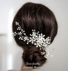 66 Ideas Large Bridal Headpiece For 2019 Bridal Headdress, Headpiece Wedding, Bridal Headpieces, Wedding Veils, Wedding Hair Flowers, Hair Comb Wedding, Wedding Hair Pieces, Lace Hair, Gold Hair