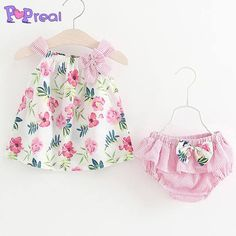 Cheap infant girl dresses, Buy Quality baby dress directly from China dresses infant girls Suppliers: LILIGIRL Summer Baby Dress Infant Girls Dresses Flower Print Cotton Bow Toddler Dress Baby Clothes Girl Dress + PP pants 2 Pcs Baby Girl Dress Patterns, Baby Clothes Patterns, Baby Girl Dresses, Baby Girls, Infant Girls, Toddler Girls, Kids Girls, Jupe Short, Baby Outfits Newborn