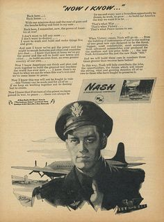 1945 Nash Print Ad  Interior Design  Paper Ephemera