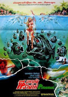 Piranha, 1978 (Thai Film Poster)