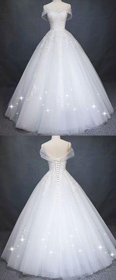 Robe de mariée princesse tulle